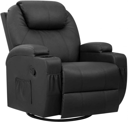 Pawnova PU Leather Chair